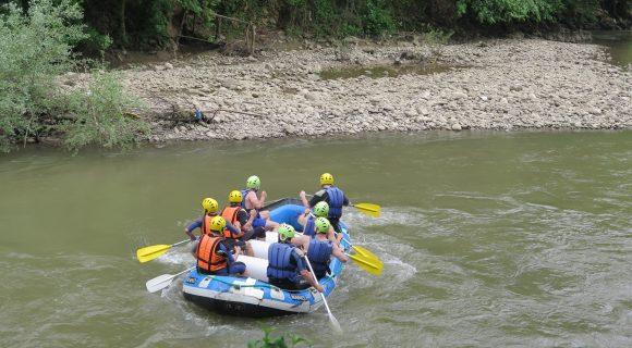 Melen Çayı'nda Rafting