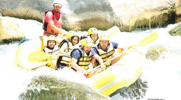 Dalaman Çayı'nda Rafting